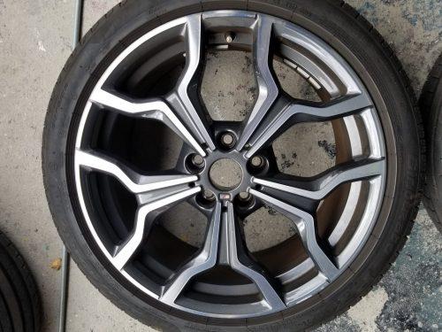 BMWのホイール修理