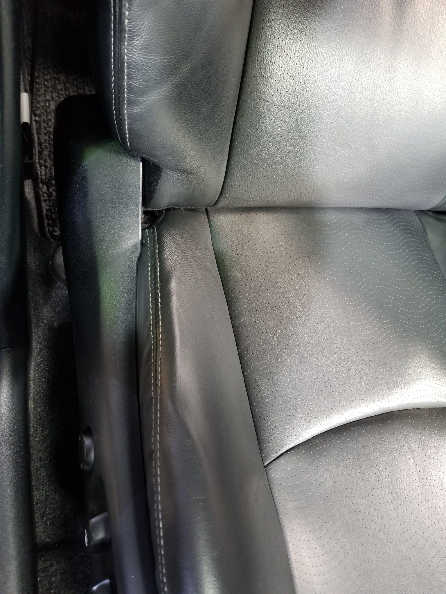 30プリウスのシート修理